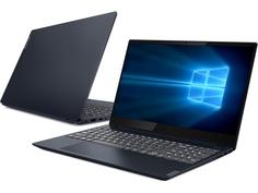 Ноутбук Lenovo IdeaPad S340-15API Blue 81NC00JVRU (AMD Ryzen 7 3700U 2.3 GHz/8192Mb/512Gb SSD/AMD Radeon Vega 10/Wi-Fi/Bluetooth/Cam/15.6/1920x1080/Windows 10 Pro 64-bit)