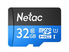 Карта памяти 32Gb - Netac microSDHC P500 Class10 NT02P500STN-032G-S