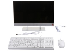 Моноблок HP 27-dp0021ur 14Q54EA (AMD Ryzen 5 4500U 2.3 GHz/8192Mb/512Gb SSD/AMD Radeon Graphics/Wi-Fi/Bluetooth/Cam/27.0/1920x1080/Touchscreen/Windows 10 Home 64-bit)