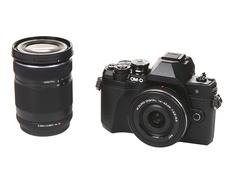 Фотоаппарат Olympus OM-D E-M10 Mark III Kit 14-42mm EZ Pancake + 40-150mm R Black-Black-Black