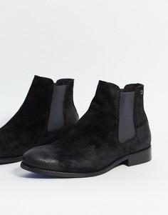 Замшевые ботинки челси Jack and Jones-Серый