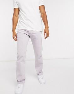 Прямые джинсы лавандового цвета Levis 501 93-Фиолетовый