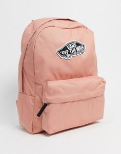 Розовый рюкзак Vans