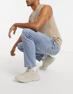 Голубые джинсы скинниBershka-Синий