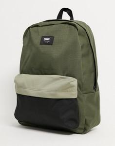 Зеленый рюкзак Vans Old Skool III