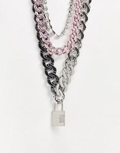 Ожерелье в виде нескольких цепочек Uncommon Souls-Мульти