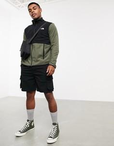 Зеленая куртка на молнии The North Face-Зеленый