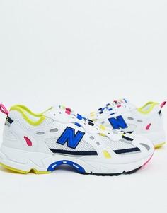 Белые кроссовки New Balance 827 Digital-Белый