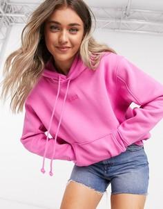 Розовое худи Levis-Розовый