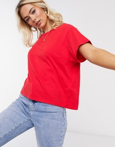 Красная футболка с логотипом Levis-Красный