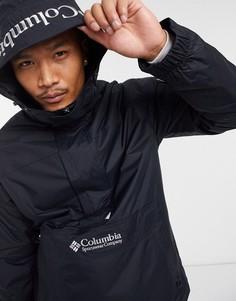 Черная куртка-пуловер Columbia Challenger-Черный цвет