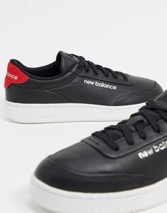 Черные кожаные кроссовкиNew BalanceCTALY-Черный