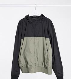 Черная куртка с капюшоном French Connection Plus-Черный