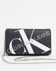 Сумка через плечо Calvin Klein Jeans-Черный