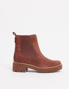 Светло-коричневые ботинки челсиTimberland-Светло-коричневый