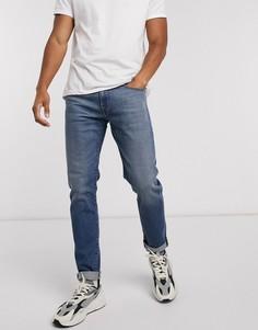 Светлые узкие джинсыDieselD-Strukt-Синий