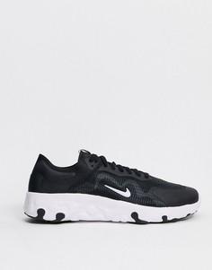 Черно-белые кроссовки Nike Renew Lucent-Черный