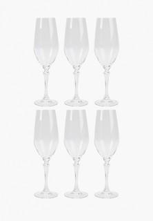Набор бокалов RCR для шампанского, Glamour, 440 мл (6 шт)