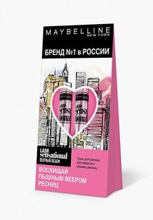 Тушь для ресниц Maybelline New York LASH SENSATIONAL, Веерный объем, 9.5 мл