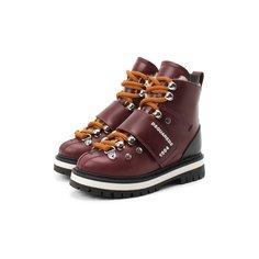 Кожаные ботинки Dsquared2