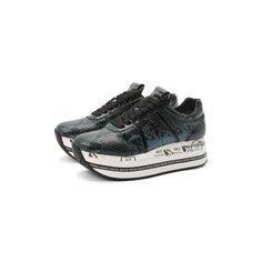Кожаные кроссовки Beth Premiata