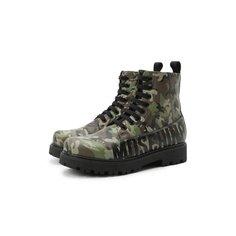 Кожаные ботинки Moschino