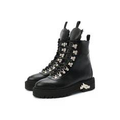 Кожаные ботинки Off-White