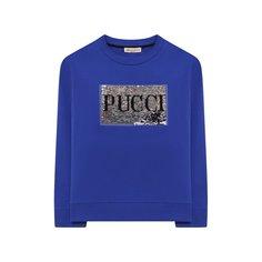 Хлопковый свитшот Emilio Pucci