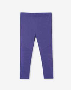 Синие байкерские леггинсы для девочки Gloria Jeans