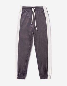 Велюровые спортивные брюки для девочки Gloria Jeans