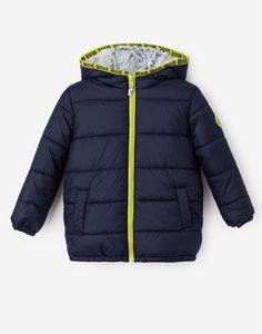 Синяя зимняя куртка для мальчика Gloria Jeans