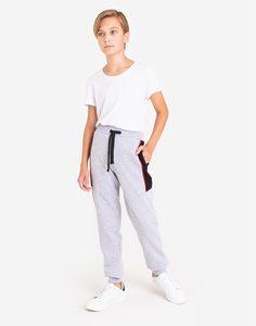 Спортивные брюки-джоггеры со вставками для мальчика Gloria Jeans