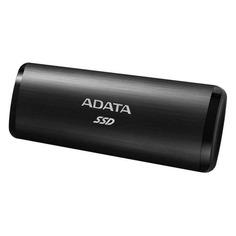 "SSD накопитель A-DATA SE760 ASE760-512GU32G2-CBK 512ГБ, 1.8"", USB Type-C"
