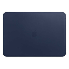 "Чехол для ноутбука 15"" APPLE Leather Sleeve, темно-синий, MacBook Pro 15 [mrqu2zm/a]"