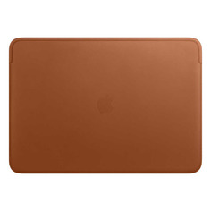 "Чехол для ноутбука 16"" APPLE Leather Sleeve, коричневый, MacBook Pro 16 [mwv92zm/a]"