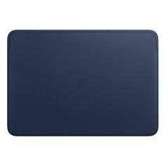 """Чехол для ноутбука 16"""" APPLE Leather Sleeve, темно-синий, MacBook Pro 16 [mwvc2zm/a]"""