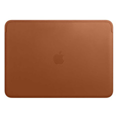 "Чехол для ноутбука 13"" APPLE Leather Sleeve, коричневый, MacBook Pro 13/MacBook Air 13 [mrqm2zm/a]"