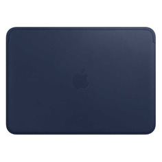 "Чехол для ноутбука 12"" Apple Leather Sleeve, темно-синий, MacBook 12 [mqg02zm/a]"