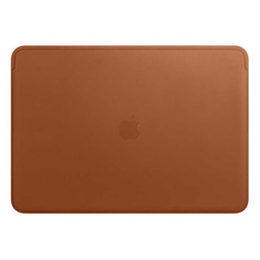 "Чехол для ноутбука 15"" APPLE Leather Sleeve, коричневый, MacBook Pro 15 [mrqv2zm/a]"