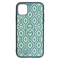 Чехол (клип-кейс) Lyambda Eris, для Apple iPhone 11, зеленый [la11-er-11-gr] Noname