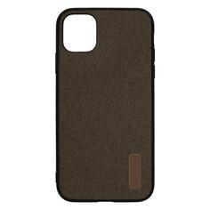 Чехол (клип-кейс) Lyambda Regul, для Apple iPhone 11 Pro Max, коричневый [la06-rg-11prom-br] Noname