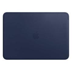 "Чехол для ноутбука 13"" APPLE Leather Sleeve, темно-синий, MacBook Pro 13/MacBook Air 13 [mrql2zm/a]"