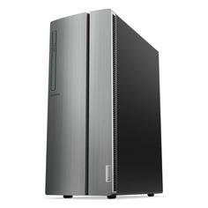 Компьютер LENOVO IdeaCentre 510-15ICK, Intel Core i5 9400F, DDR4 8ГБ, 1000ГБ, 256ГБ(SSD), NVIDIA GeForce GTX 1650 - 4096 Мб, DVD-RW, CR, noOS, черный [90lu008yrs]