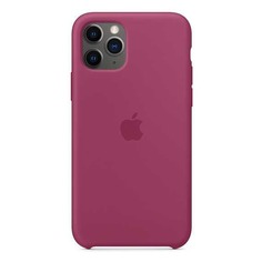 Чехол (клип-кейс) APPLE Silicone Case, для Apple iPhone 11 Pro, сочный гранат [mxm62zm/a]