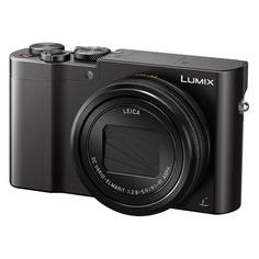 Цифровой фотоаппарат PANASONIC Lumix DMC-TZ100EEK, черный