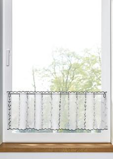 Короткие шторы Занавеска кухонная с вышивкой Bonprix