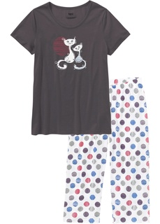 Ночное белье Пижама с бриджами Bonprix