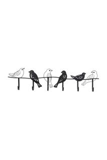 Вешалка настенная Birds 85 см Kare