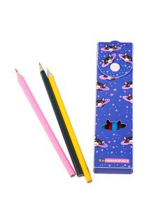 Пенал с карандашами, 12 шт Издательство Эксмо