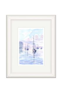 "Картина ""Лодки"" OLGA GLAZUNOVA"